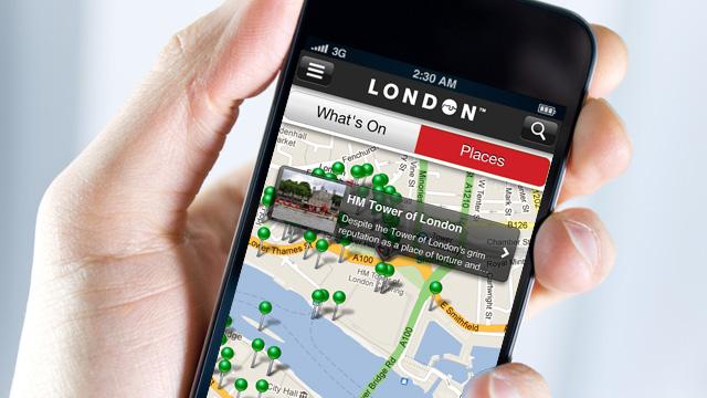 在伦敦必备10个手机应用