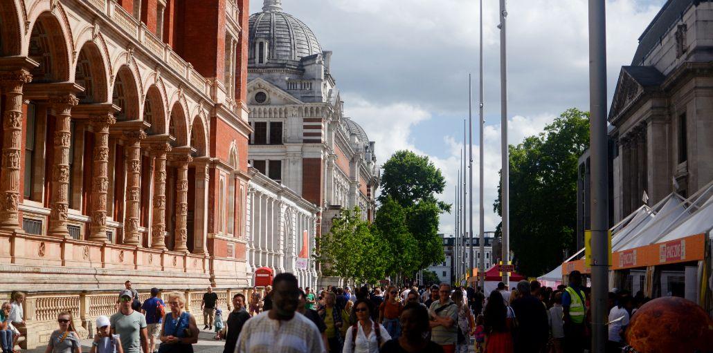 伦敦展览路